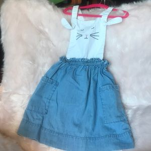 Hanna Andersson 'Somebunny Jumper' size 120 (6-7)